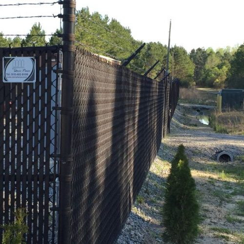 commercial chain-link fencing