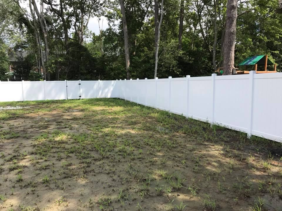 privacy fence around property