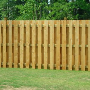 shadow box wood fence